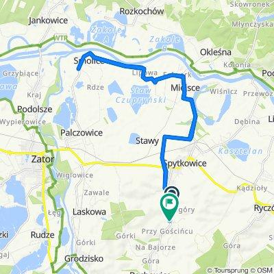 Wadowicka 125, Spytkowice do Stefczyka 127, Bachowice