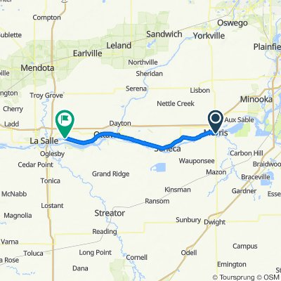 Morris to Starved Rock
