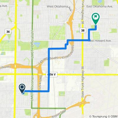 Easy ride in Milwaukee