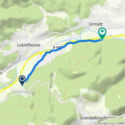 De 14B Rue des Prés, Muhlbach-sur-Bruche à Route des Romains, Muhlbach-sur-Bruche