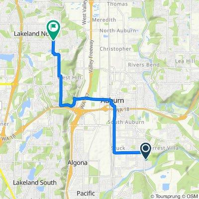 3030 R St SE, Auburn to 5103 S 297th Pl, Auburn