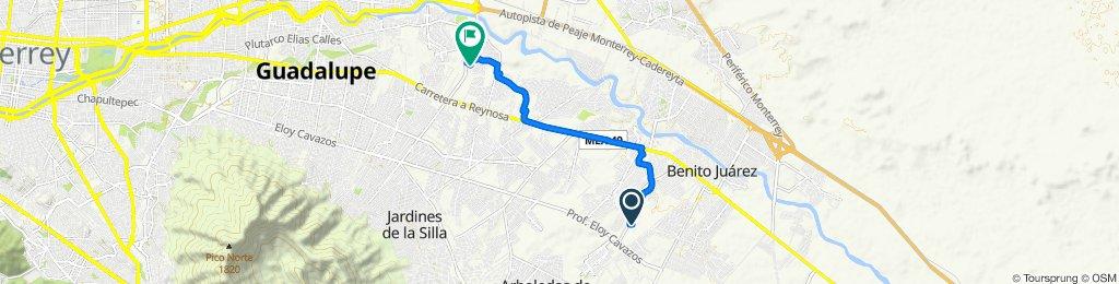 De La Bamba 109c a Río Marcela 333, Guadalupe