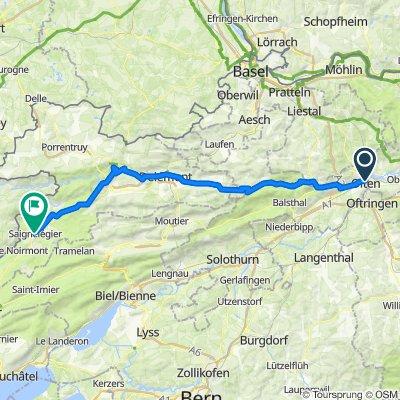 Tour de Suisse 1. Etappe