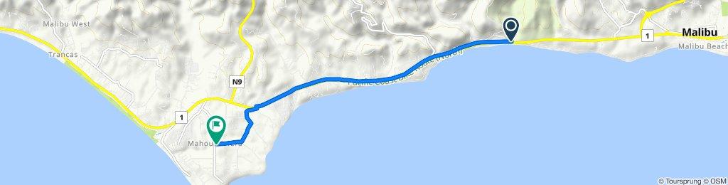 25653 Pacific Coast Hwy, Malibu to 29179 Grayfox St, Malibu