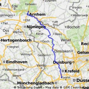Willich - Arnhem (120 km)