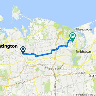 12 South Ln, Huntington to 33 Westwood Ln, Kings Park