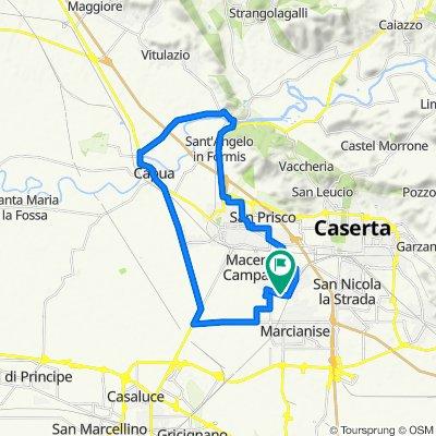 Da Vicolo Primo Piazza San Marcello, Macerata Campania a Vicolo Primo Piazza San Marcello, Macerata Campania