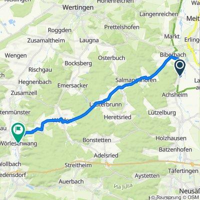 Eggelhof 4, Langweid am Lech nach Obere Hauptstraße 3, Zusmarshausen