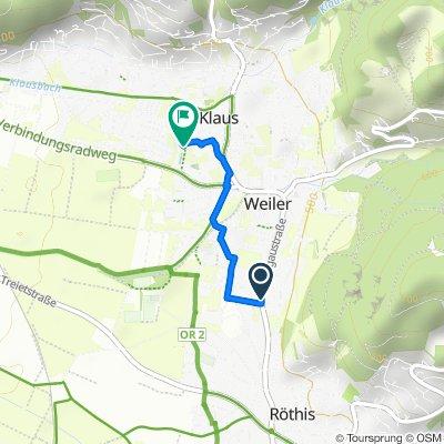 Feldstraße 4, Weiler nach Mühlbachweg 7, Klaus