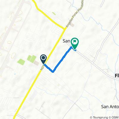 Angeles-Porac-Floridablanca-Dinalupihan Road, Floridablanca to San Antonio-Floridablanca Road, Floridablanca