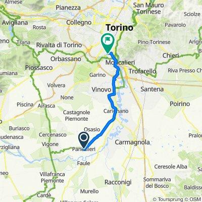 Da Via Ataliva 3, Pancalieri a Via Onorato Vigliani 164, Torino