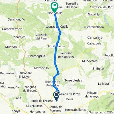 Calle Camino de la Higuera 5, Mata de Quintanar to Calle la Fuente 1, Hontalbilla