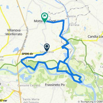 Da Via Stura in Terranova 81A–87, Terranova a Piazza Castello 14, Motta de' Conti