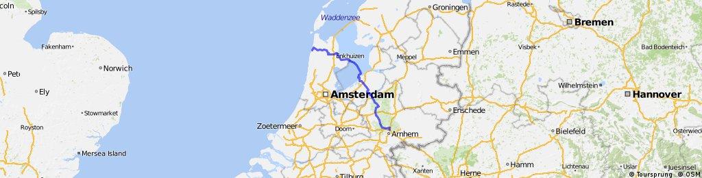 Arnhem - Sint Maartenszee (160 km)