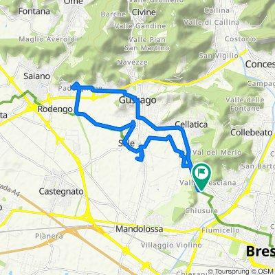 Da Via Giuseppe Ghetti 29, Brescia a Via Giuseppe Ghetti 29, Brescia