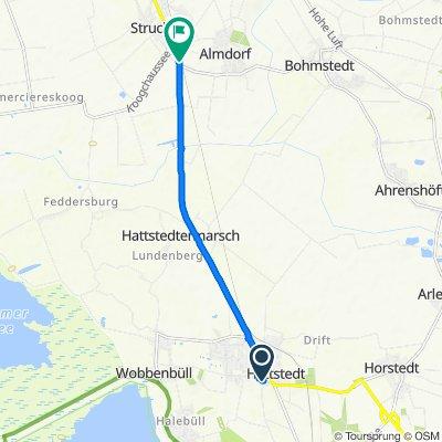 Kirchenweg 9, Hattstedt nach Hauptstraße 2, Struckum