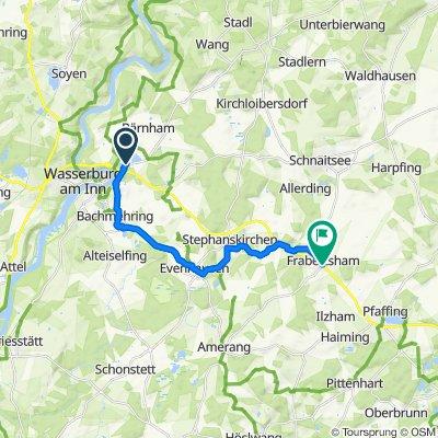 Äußere Lohe 26A, Wasserburg am Inn nach Hauptstraße 5, Obing