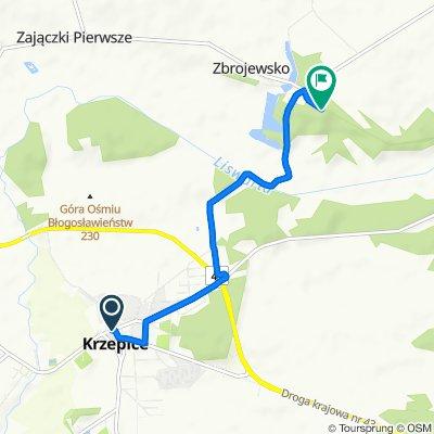 Krzepice do 12B, Zbrojewsko