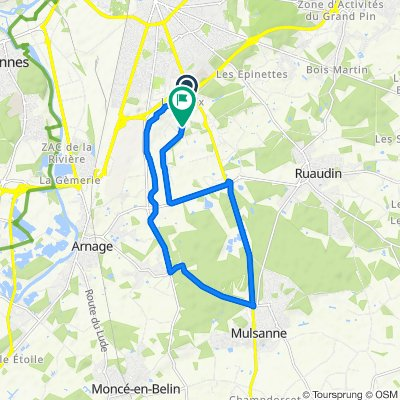 TDF neu 1. Etappe EZF Le Mans