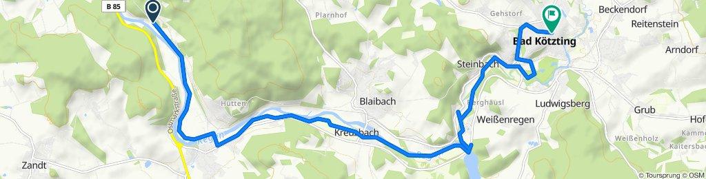 Eichbergweg 8, Chamerau nach Marktstraße 33, Bad Kötzting