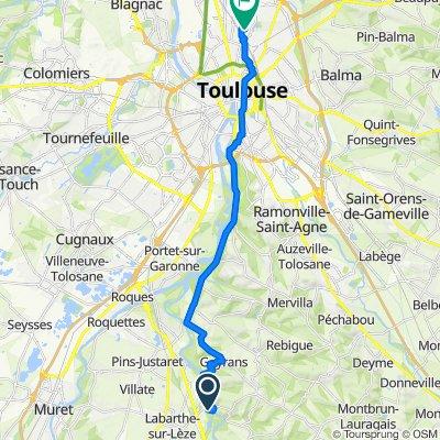 Itinéraire vers 10 Rue Loubiague, Toulouse