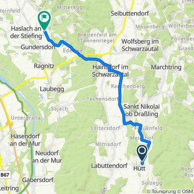 Hütt 20 nach Badendorf 54