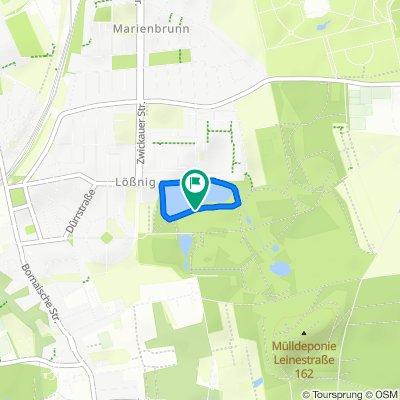 Kindernachtrennen2020 - Route2