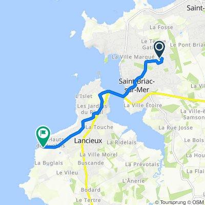 De 4bis Rue de la Négrais, Saint-Briac-sur-Mer à 69–73 Avenue des Ajoncs, Lancieux