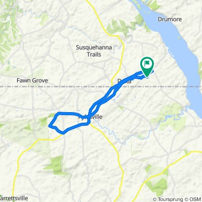 566 Slateville Rd, Delta to 566 Slateville Rd, Delta