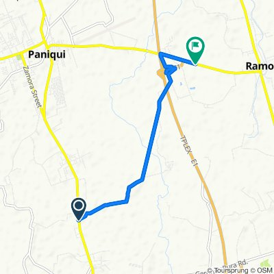 Route from Mcarthur Highway, Gerona