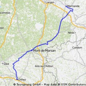 Tour d'Aquitaine Etape 5 : Orthez - Marmande