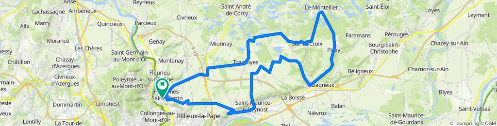 4180615-ballade dans l'ain 64 km