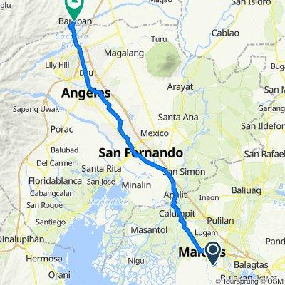 138 Bagna-Panasahan-Matimbo Road, Malolos City to Bamban Poblacion Road, Bamban