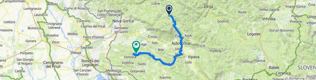 STKP, 13. etapa: Iztokova koča pod Golaki – Stjenkova koča na Trstelju