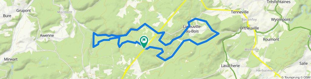 MTB laneuville 30km