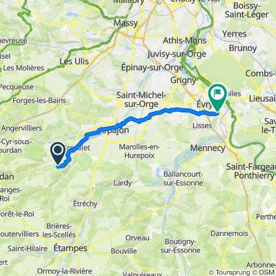 De Camping Héliomonde, Saint-Chéron à 12 Rue Jacques Anquetil, Corbeil-Essonnes
