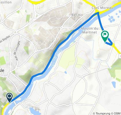 De 43 Route de Périgueux, Isle à Chez le Roy, Limoges