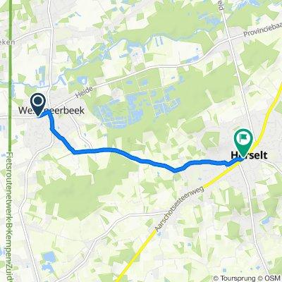 Stationsstraat 43, Hulshout naar Dorp 42, Herselt