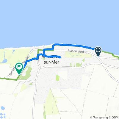 De 47 Avenue de la Manche, Bernières-sur-Mer à Chemin de Quintefeuille, Bernières-sur-Mer