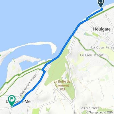 De 41 Rue Henri Dobert, Houlgate à 40–42 Rue du Général de Gaulle, Dives-sur-Mer