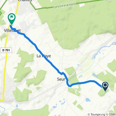 De 19 Route de Seur, Chitenay à 431 Rue de la Libération, Chailles