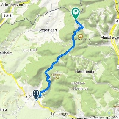 Route von Raabuck 6, Siblingen