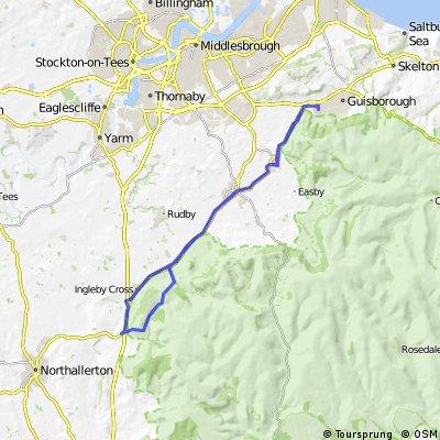 Guisborough - Osmotherly circuit