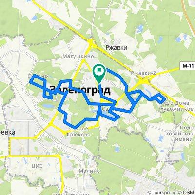 От 3-й микрорайон, 303, Москва до 3-й микрорайон, к305с1, Москва