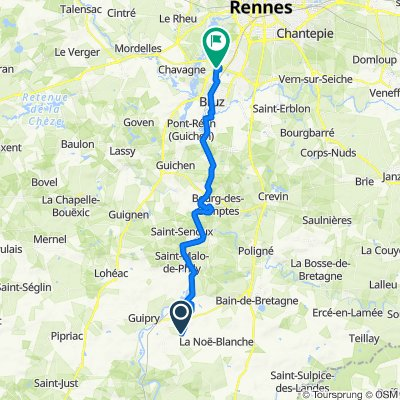 De 8 La Gaucherais, Messac à Ker Lann, Bruz