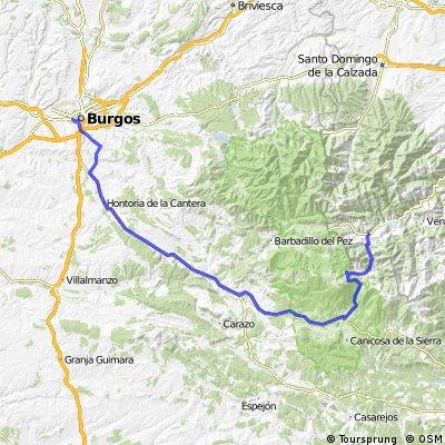 Burgos-Lagunas de Neila