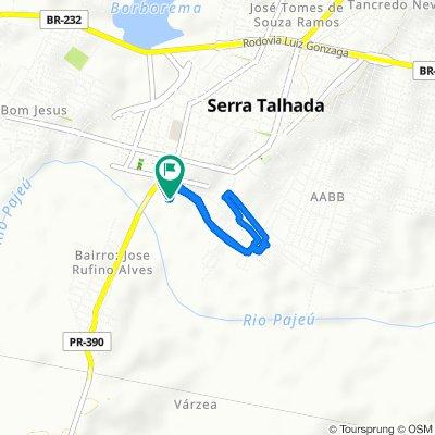 De Travessa Comandante Superior Sg, 36, Serra Talhada a Segunda Travessa Comendador Superior, 2–30, Serra Talhada