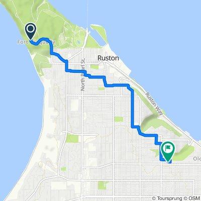 5519 Five Mile Rd, Tacoma to 3711 N 30th St, Tacoma