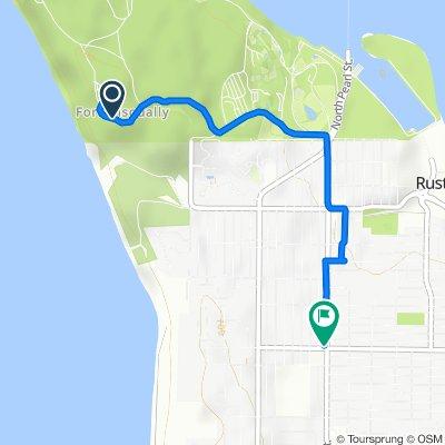 5501–5545 Five Mile Rd, Tacoma to 4602 N Pearl St, Tacoma