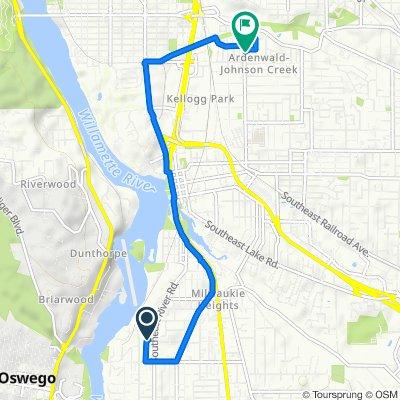 13505 SE River Rd, Portland to 8704 SE 32nd Ave, Milwaukie